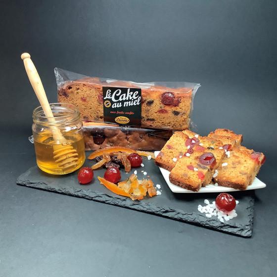 CAKE AU MIEL - GÂTEAUX AU MIEL - BISCUITS AU MIEL  CAKE MIEL FRUITS CONFITS
