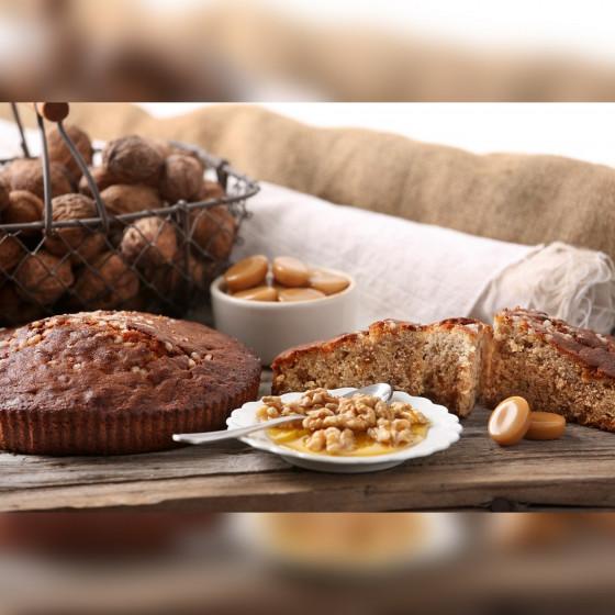 BISCUITÉRIES AU MIEL  Délicieux Noix Caramel 230 gr