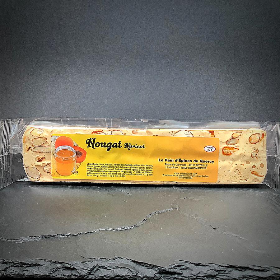 NOUGATS  NOUGAT BARRE ABRICOT