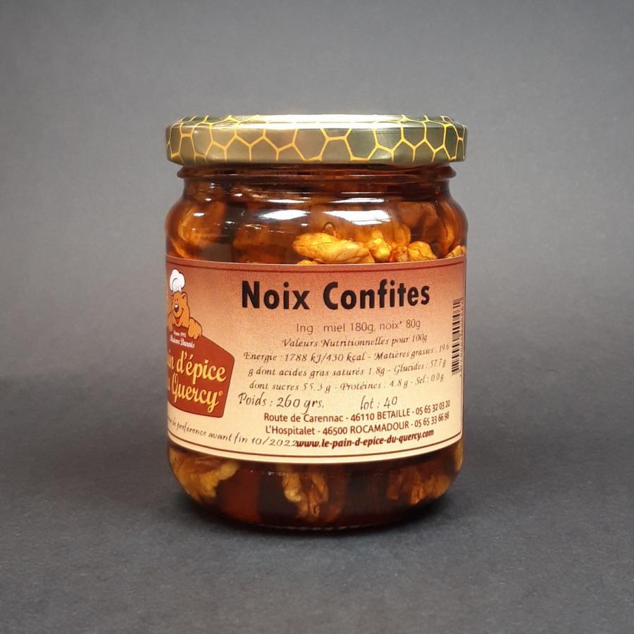 NOIX DE DORDOGNE  NOIX CONFITES AU MIEL