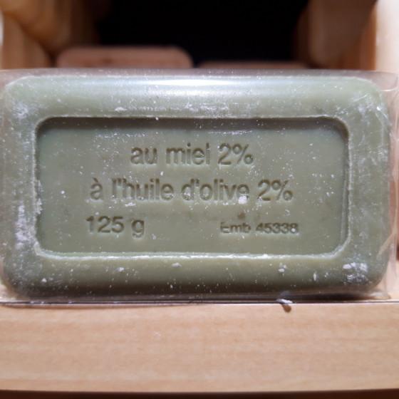 SAVONS Miel  Savon Miel 2% et l'huile d'Olive 2% 125g