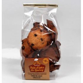 Accueil  COOKIES MIEL CHOCOLAT 160 GRS