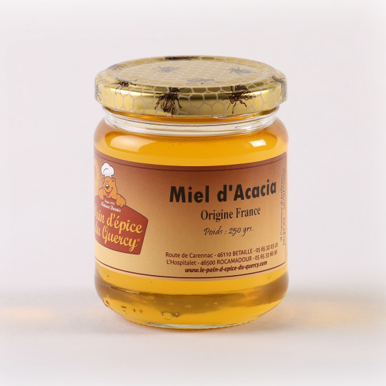 NOS MIELS  MIEL D'ACCACIA (FRANCE) 250 g