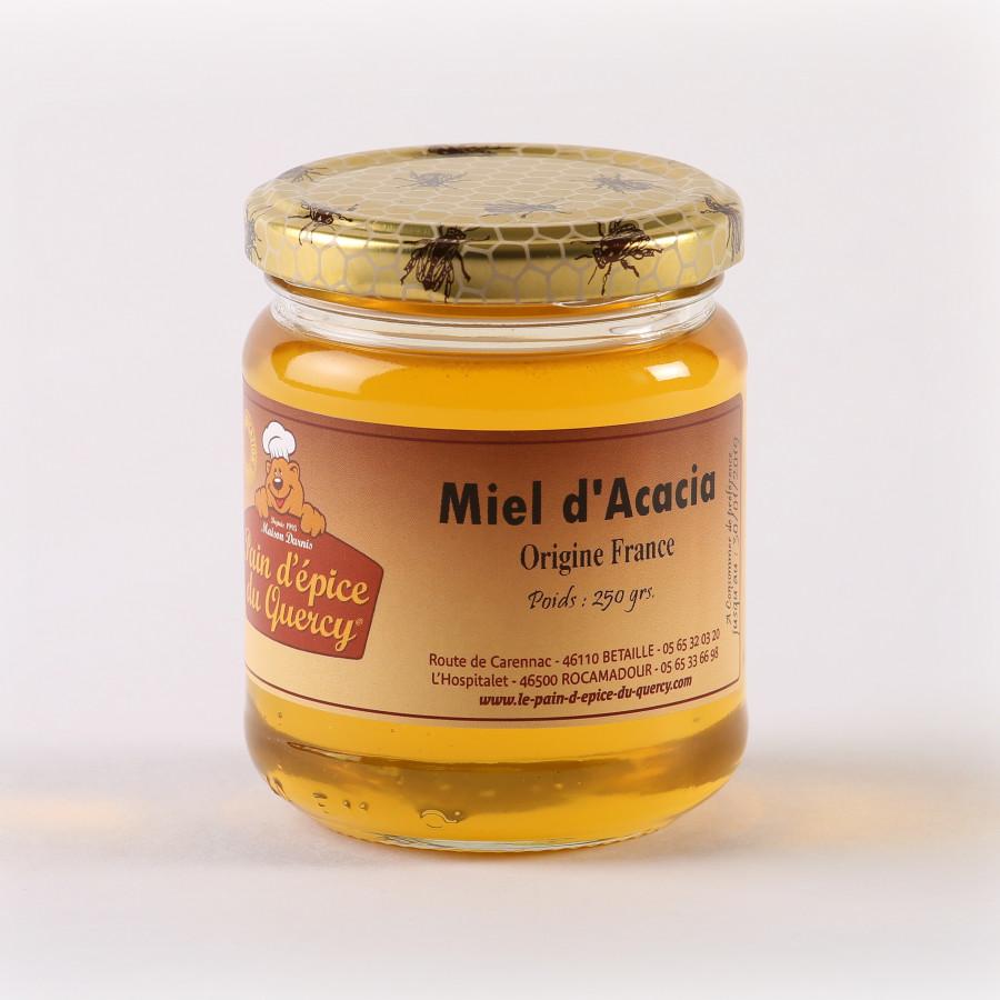 NOS MIELS  MIEL D'ACACIA (FRANCE) 250 g