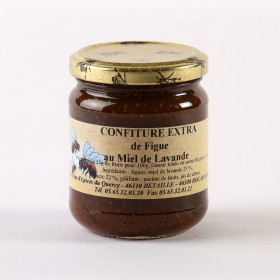 CONFITURES ET TARTINES  CONFITURE FIGUE MIEL DE LAVANDE