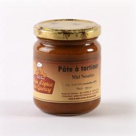 CONFITURES ET TARTINES  PÂTE MIEL NOISETTE
