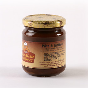 PÂTE MIEL CHOCOLAT NOISETTE