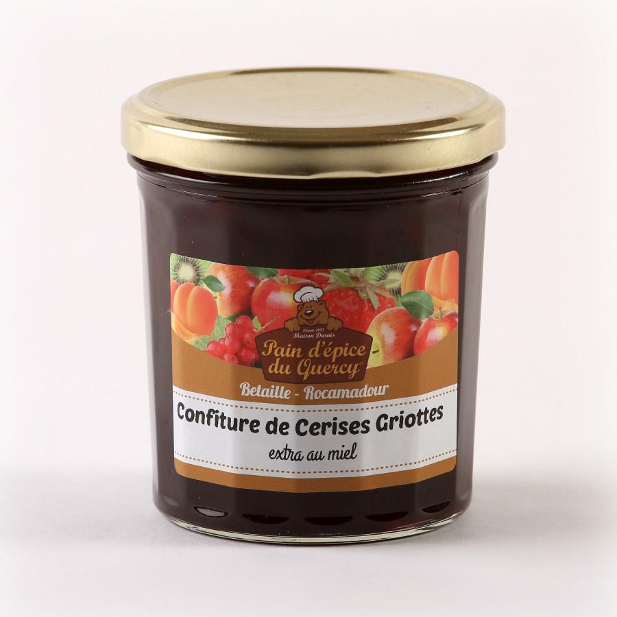 CONFITURE DE CERISES GRIOTTES