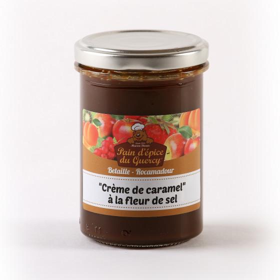 CONFITURES ET TARTINES  CREME CARAMEL FLEUR DE SEL 250 gr