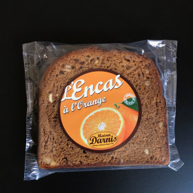 PAIN D'ÉPICE AU MIEL  Encas Orange