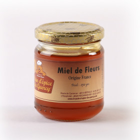 NOS MIELS  copy of MIEL DE FLEURS(FRANCE) 250 g