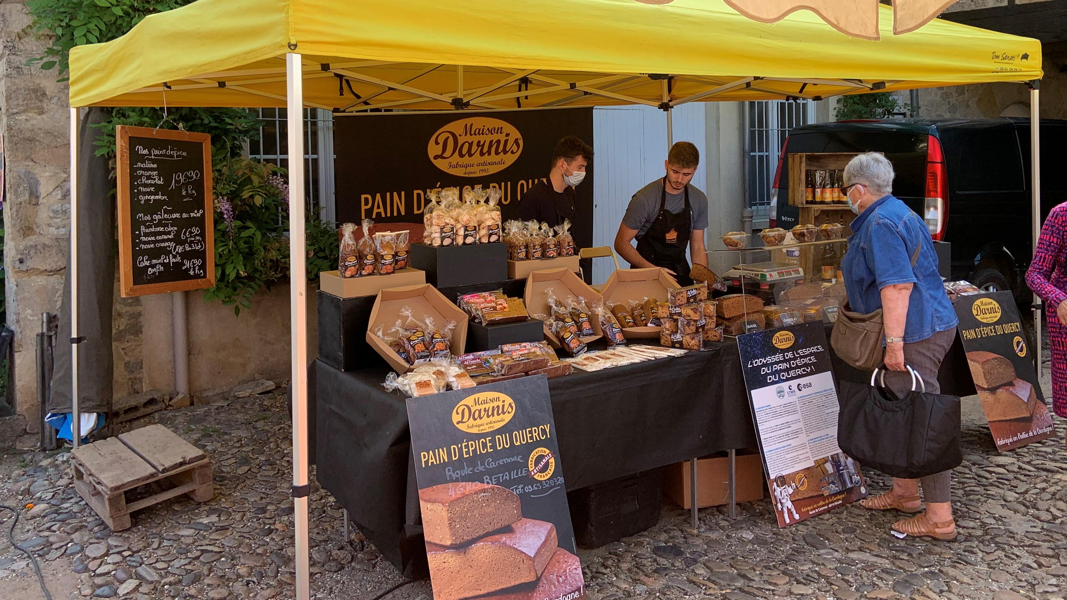 marché pain épice quercy vallée de la dordogne